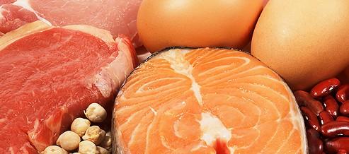 Alimentos que contienen proteínas y vitaminas